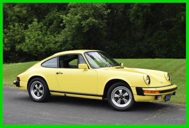 1976 Porsche 912 912E Sunroof, Manual Transmission, 89,923 Miles