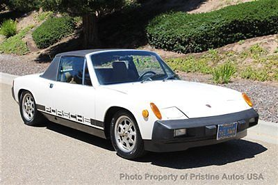 1976 Porsche 914 914 2.0 Litre Original Paint- 1 owner since 1978