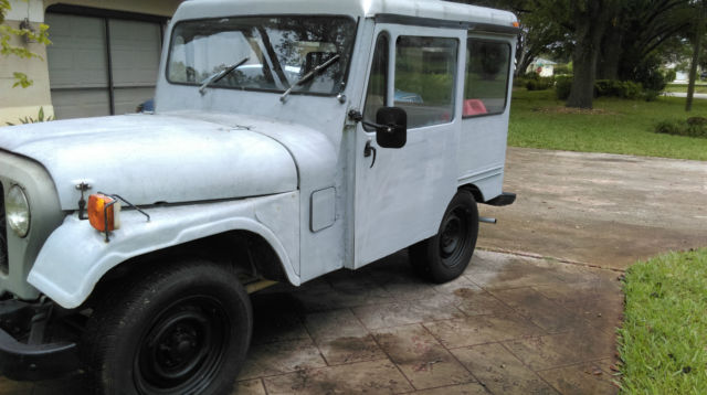 1976 postal jeep for sale photos technical specifications description. Black Bedroom Furniture Sets. Home Design Ideas
