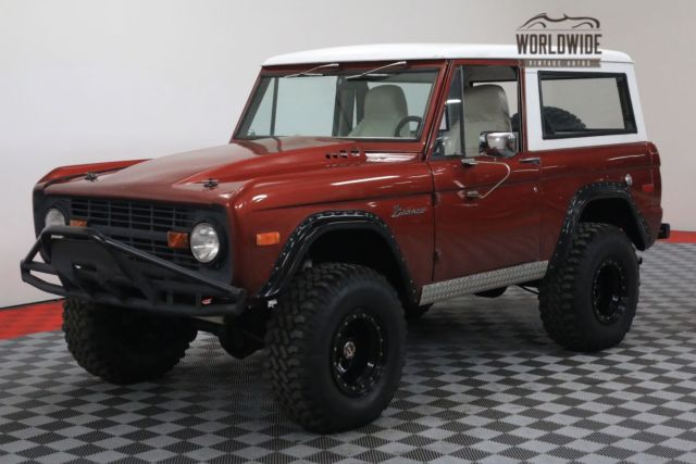 1976 Ford Bronco 4X4 PS FRONT DISC 302 V8 MANUAL