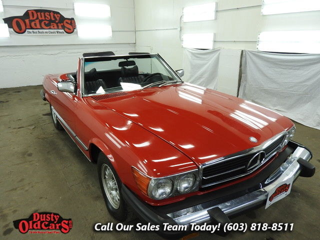 1976 Mercedes-Benz SL-Class Runs Drives Body Inter Vgood 4.5L V8 3 spd auto