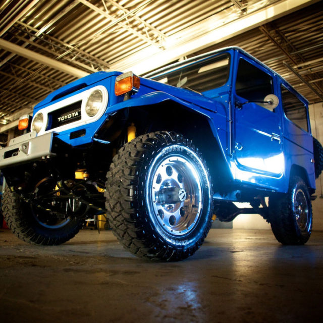 Toyota Dealers St Louis: 1976 Toyota Land Cruiser FJ-40 Voodoo Blue $110k In