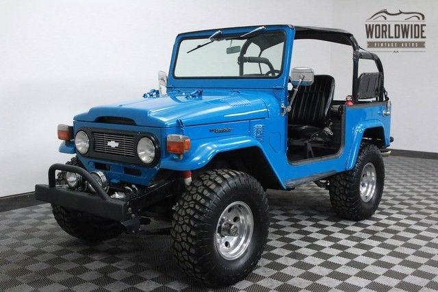 1976 Toyota Land Cruiser RESTORED. V8 CONVERSION. PS. DISC BRAKES.