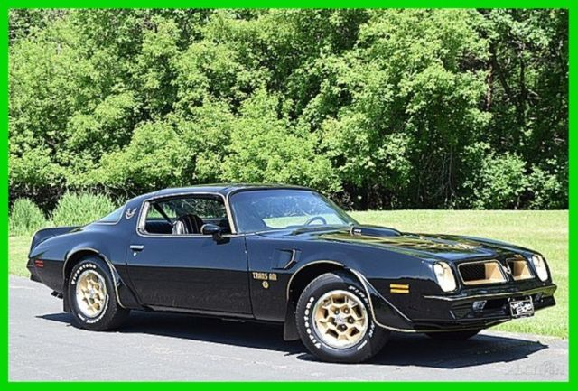 1976 Pontiac Trans Am Special Edition Bandit Style