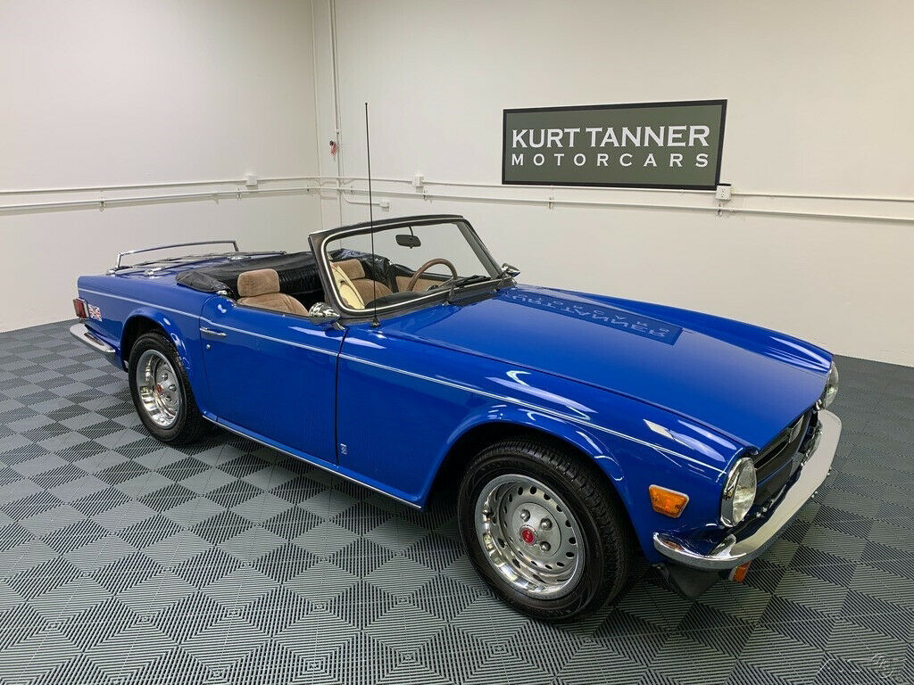 1976 Triumph TR-6 1976 TRIUMPH TR-6. 4-SPEED WITH FACTORY OVERDRIVE.