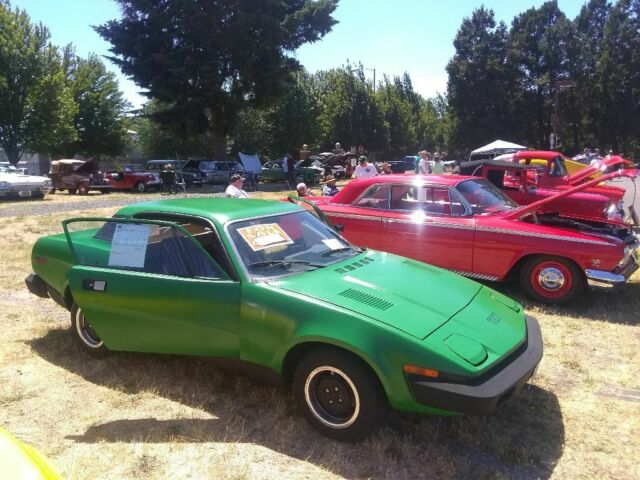 1976 Green Triumph TR 7 Coupe Coupe with Tan interior