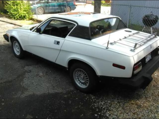 1976 Triumph TR7 WHITE FHD 4 Speed Coupe Original 2 0L for sale