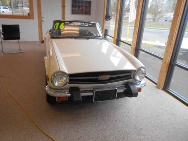 1976 Triumph TR-6 -Oregon Showroom