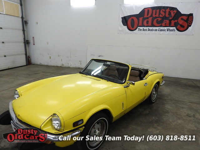 1976 Triumph Spitfire Great Project Car Runs Needs TLC 1.5L 4 Speed