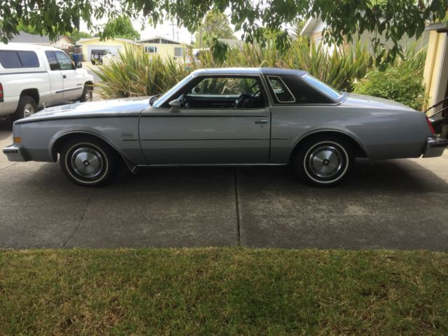 1977 Buick Century Silver