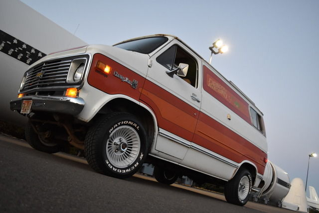 1977 Chevrolet G20 Van CUSTOM SHORT WHEELBASE TRICK VAN