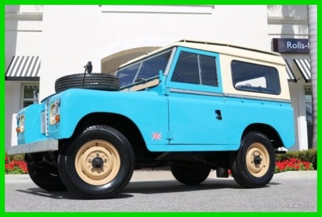1977 Land Rover SERIES II 88