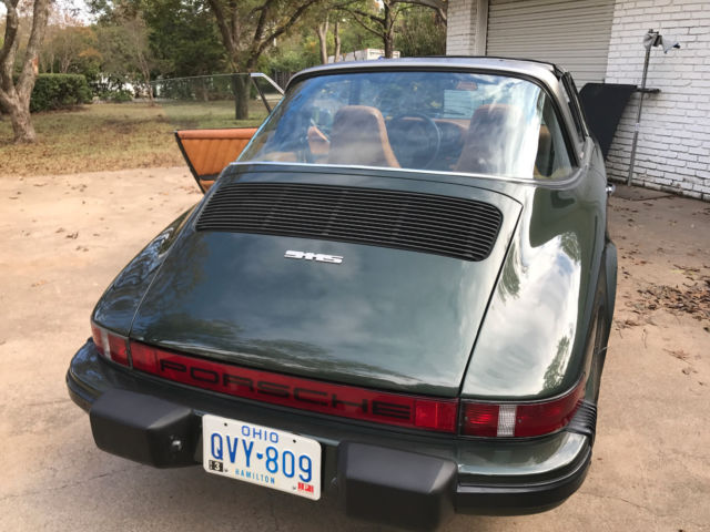 1977 Green Porsche 911 49k Time-Capsule, original paint, books Convertible with Tan interior
