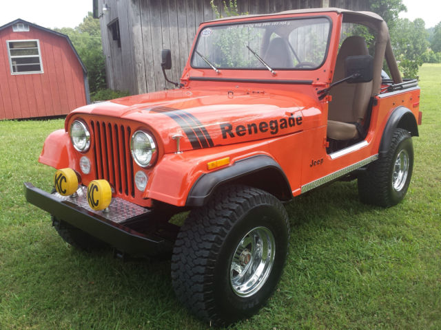 1977 Jeep CJ JEEP CJ7 RENEGADE