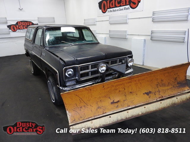 1977 GMC Jimmy Runs Drives Body Int Good 350V8 3 spd auto