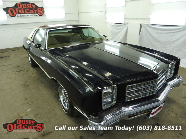 1977 Chevrolet Monte Carlo Runs Drives Body Inter VGood 350V8 3spd auto