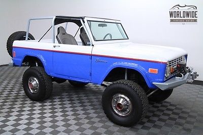 1977 Ford Bronco $50K Invested! PS PB AUTO FUEL INJECTION