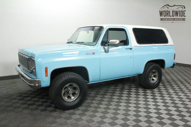 1977 GMC Jimmy BLAZER. RESTORED 4X4! COLLECTOR CONVERTIBLE!