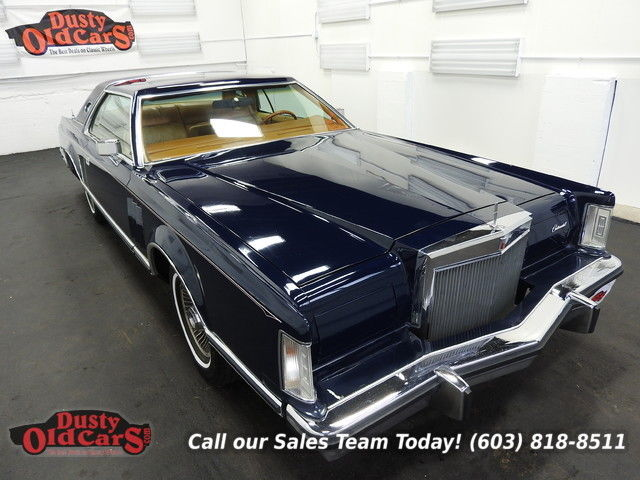 1977 Lincoln Mark Series Runs Drives Body Inter Vgood 460V8 3spd auto