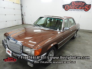 1977 Mercedes-Benz 400-Series Runs Drives Body Inter Vgood New Air Suspen Rd Rdy