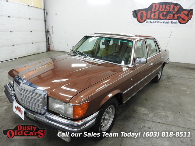 1977 Mercedes-Benz 400-Series Runs Drives Body Inter Vgood New Suspension Rd Rdy