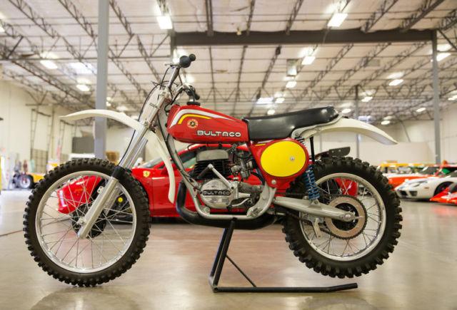 1977 Bultaco Dirt bike Restored show bike custom for sale