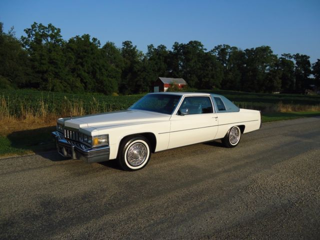 1977 Cadillac DeVille COUPE