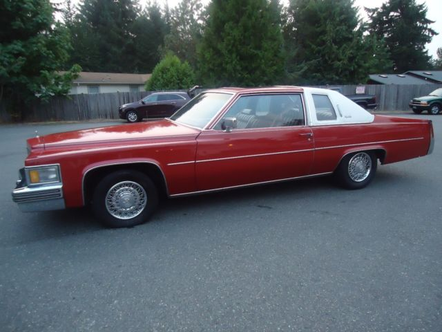 1977 Cadillac DeVille 425 Coupe V8 Classic Collector