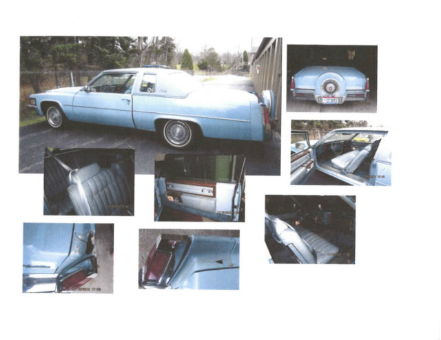1977 Cadillac DeVille Base Coupe 2-Door