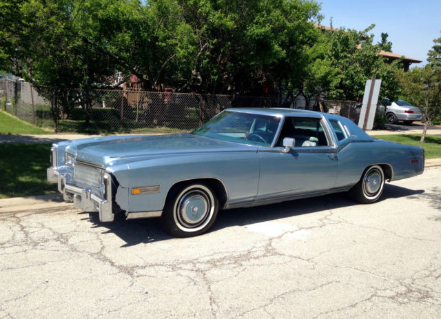 1977 cadillac eldorado biarritz coupe 2 door 7 0l for sale. Black Bedroom Furniture Sets. Home Design Ideas