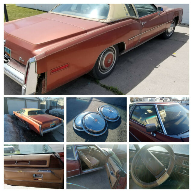 1977 Cadillac Eldorado Coupe with Tan interior
