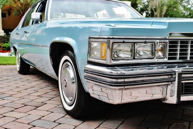 1977 Cadillac DeVille with Only 3046 hundred  Actual Miles  ot miss print