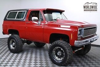 1977 Chevrolet Blazer Restored Custom. Big Block! 2K Miles!