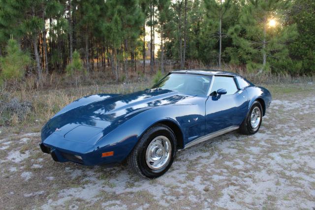 1977 Chevrolet Corvette 350 T Top 2 Door V8 77 Pictures Must See Call Now