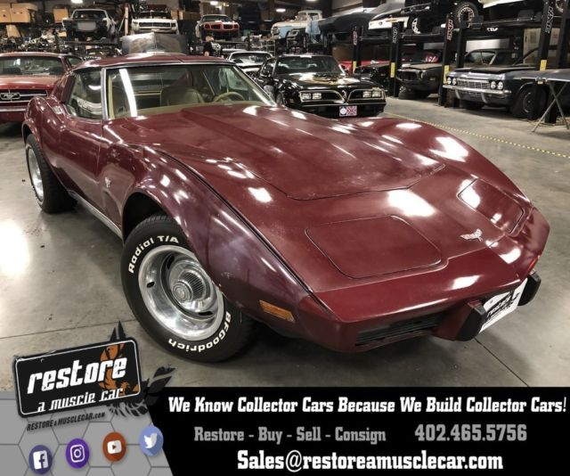 1977 Chevrolet Corvette L-48 Automatic - Very Clean, 78k miles