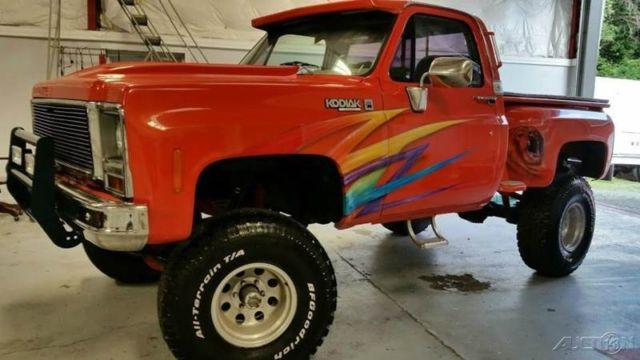 1977 Chevrolet Kodiak Kodiak tilt body pickup 454 BIG BLOCK