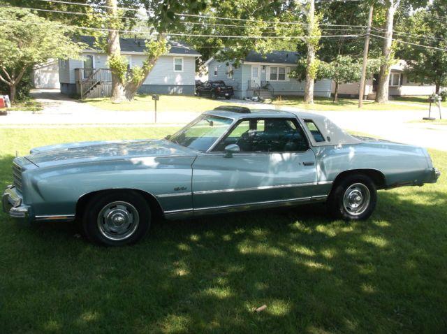 1977 Chevrolet Monte Carlo Landau Lowrider Donk Muscle Car For Sale
