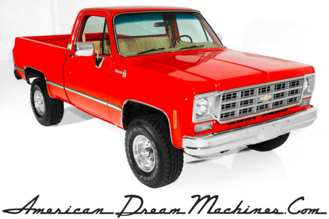 1977 Chevrolet Pickup 4x4 Silverado, Very Nice!