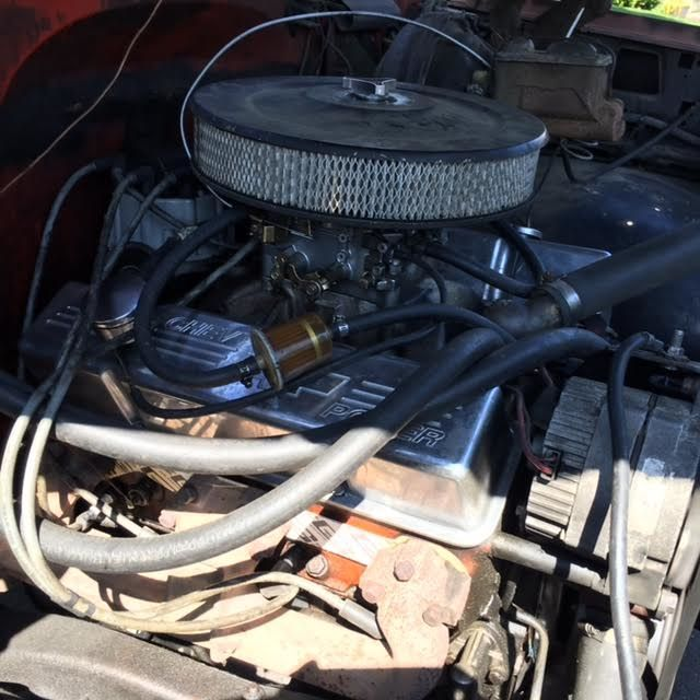 Chevy 350 Engine With Transmission For Sale: 1977 CHEVY CHEYENNE K10 4X4 STEPSIDE! RUNS AND DRIVES