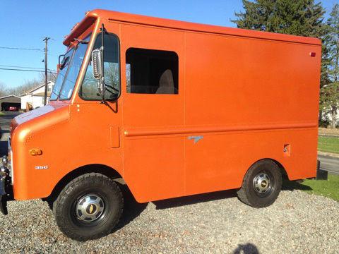 1977 Chevy Grumman Vintage Step Van Stepvan Food Truck
