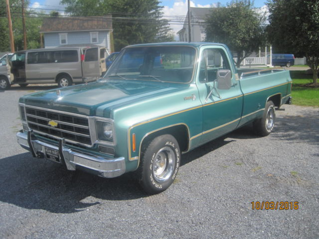 1977 Chevy Silverado 10 Factory 454 Truck For Sale Photos