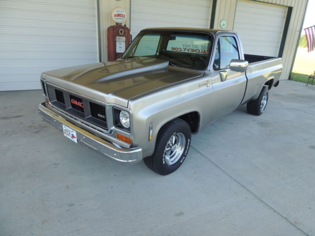 1977 Chevy Truck Restored Body Frame Off Muscle 2500 3500