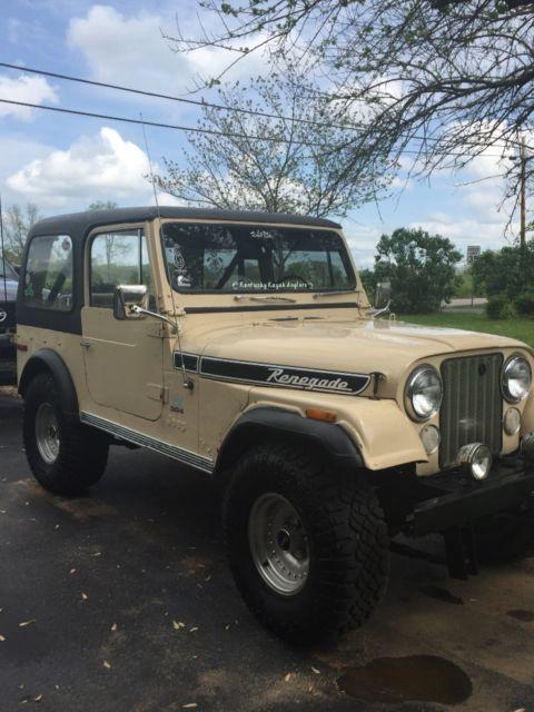 1977 CJ 7 for sale: photos, technical specifications, description