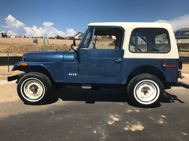 1977 CJ-7 ONLY 23K MILES 1 OWNER for sale: photos, technical ...