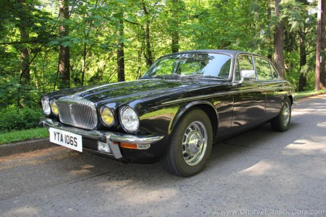 1977 Other Makes Daimler Sovereign Vanden Plas LHD! 4-Speed! 1-Of-A-Kind. VIDEO.