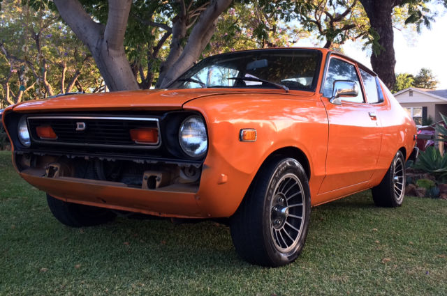 1977 datsun b210 two door coupe with nissan ka24e engine. Black Bedroom Furniture Sets. Home Design Ideas
