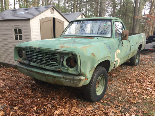 1977 Dodge Other Pickups M880 military 4x4 pickup project