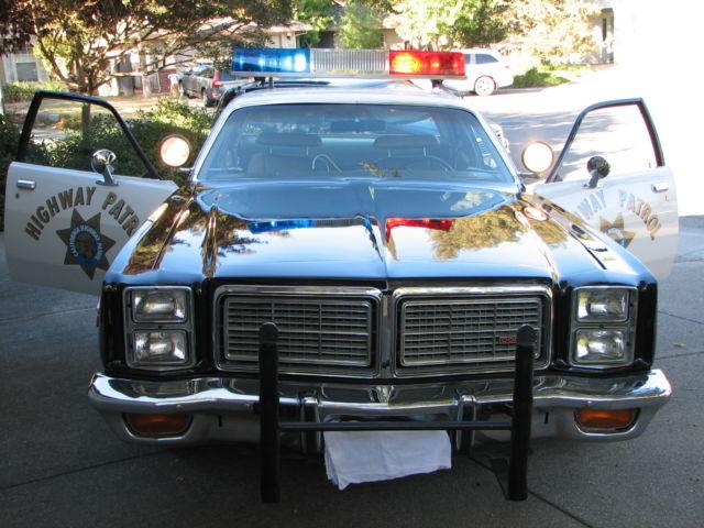1977 dodge monaco california highway patrol chp police package car 440 hp for sale photos. Black Bedroom Furniture Sets. Home Design Ideas