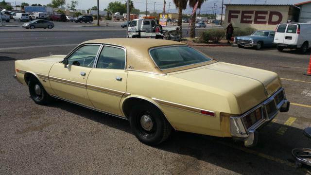 1977 Dodge Monaco detective police clone for sale photos