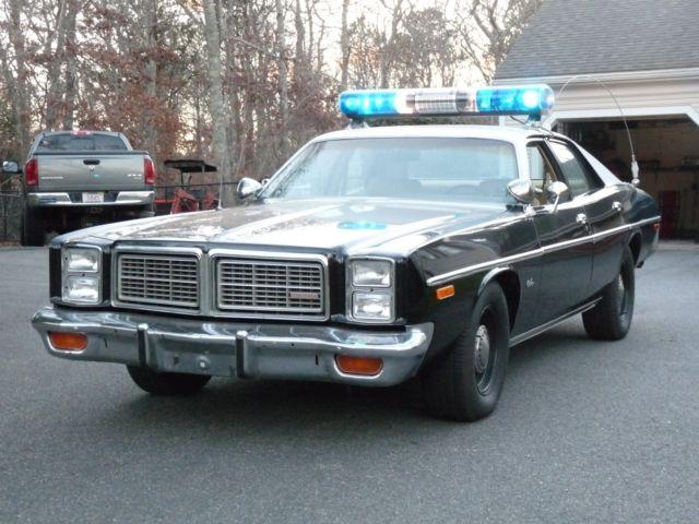 1977 Dodge Monaco California Highway Patrol CHP Police Package car